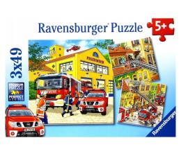 Puzzle dla dzieci Ravensburger Straż pożarna naprzód!