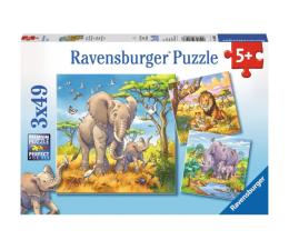 Puzzle dla dzieci Ravensburger Dzikie zwierzęta