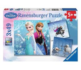Puzzle dla dzieci Ravensburger Disney Frozen Zimowe przygody