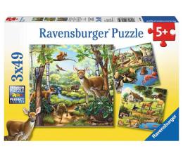 Puzzle dla dzieci Ravensburger Zwierzęta