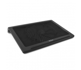 """Podstawka chłodząca pod laptop SilentiumPC Chłodząca Glacier NC400 (do 17,3"""", czarna)"""