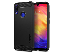 Etui/obudowa na smartfona Spigen Rugged Armor do Xiaomi Redmi Note 7 Black