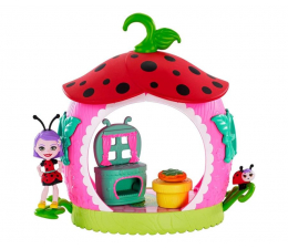 Lalka i akcesoria Mattel Enchantimals Pokoik Kwitnący Ogród Biedronka