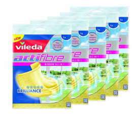Akcesoria do sprzątania Vileda ACTIFIBRE okienna zestaw 5 sztuk