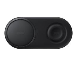 Ładowarka do smartfonów Samsung Ładowarka indukcyjna Duo Czarny
