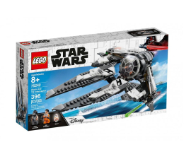 Klocki LEGO® LEGO Star Wars TIE Interceptor Czarny As