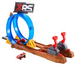 Pojazd / tor i garaż Mattel Cars XRS Wyzwanie Szalone Kraksy