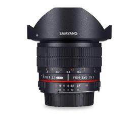 Obiektywy stałoogniskowy Samyang 8mm F3.5 H.D Canon