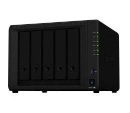 Dysk sieciowy NAS / macierz Synology DS1019+ (5xHDD, 4x1.5-2.3GHz, 8GB, 2xUSB, 2xLAN)