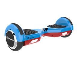 "Hoverboard Skymaster Smart Dual 6"" blue-red + Głośnik + Aplikacja"