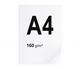 Papier do drukarki A4 ryza 250 szt. 160g/m