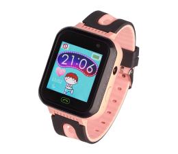 Smartwatch dla dziecka Garett Kids Fine 2019 czarno-różowy