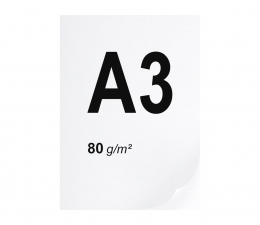 Papier do drukarki A3 ryza 500 szt.  80g/m