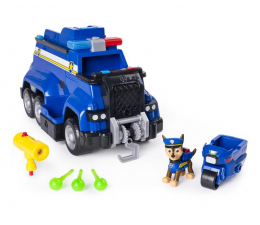 Pojazd / tor i garaż Spin Master Psi Patrol Duży Radiowóz Ratunkowy Chase'a