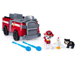 Pojazd / tor i garaż Spin Master Psi Patrol Transformujący wóz strażacki Marshall