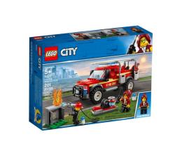 Klocki LEGO® LEGO City Terenówka komendantki straży pożarnej