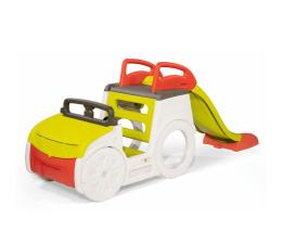 Plac zabaw Smoby Samochód przygody ze zjeżdżalnią i piaskownicą