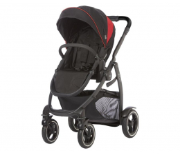 Wózek spacerowy Graco Evo XT Black Red
