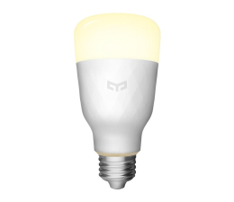 Inteligentne oświetlenie Yeelight LED Smart Bulb White (E27/800lm)