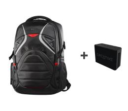 Plecak na laptopa Targus Strike Gaming backpack + Muvo 1c czarny