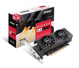 Karta graficzna AMD MSI Radeon RX 550 4GT Low Profile OC 4GB GDDR5