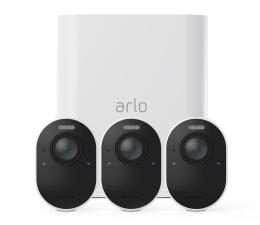 Kamera IP Netgear Arlo Ultra WiFi 4K UHD IR (3szt. + stacja alarm.)