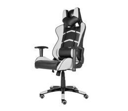 Fotel gamingowy Silver Monkey SMG-400 (Czarno-Biały)