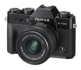 Aparat kompaktowy Fujifilm X-T20 15-45mm czarny
