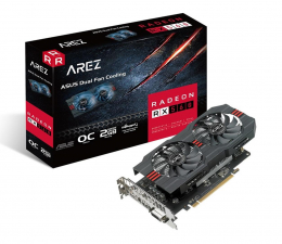 Karta graficzna AMD ASUS Radeon RX 560 AREZ EVO OC 2GB GDDR5