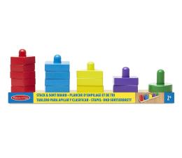 Zabawka drewniana Melissa & Doug Drewniany sorter kształtów i kolorów
