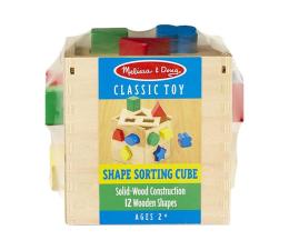 Zabawka drewniana Melissa & Doug Drewniany sorter sześcian Cube
