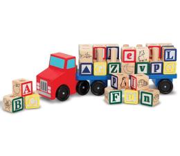 Zabawka drewniana Melissa & Doug Drewniana ciężarówka z klockami