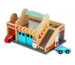 Zabawka drewniana Melissa & Doug Stacja paliwowa z garażem