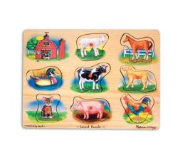 Zabawka drewniana Melissa & Doug Puzzle drewniane Farma