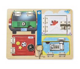 Zabawka drewniana Melissa & Doug Lock and Latch Board