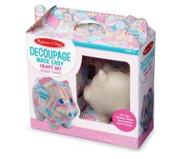 Zabawka plastyczna / kreatywna Melissa & Doug Zestaw do decoupag'u Piggy Bank
