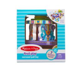 Zabawka drewniana Melissa & Doug Drewniana karuzela do ciągnięcia w pudełku