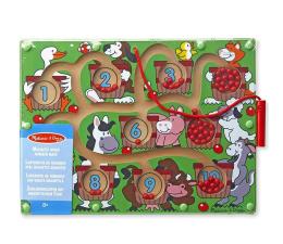 Zabawka edukacyjna Melissa & Doug Magnetyczna gra liczbowa