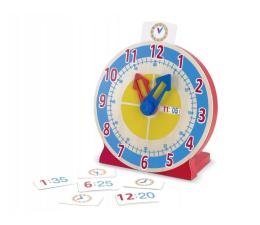 Zabawka edukacyjna Melissa & Doug Zegar edukacyjny