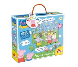 Puzzle dla dzieci Lisciani Giochi Świnka Peppa Miękkie puzzle
