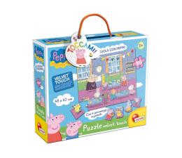 Puzzle dla dzieci Lisciani Giochi Świnka Peppa Peppa w szkole Miękkie puzzle