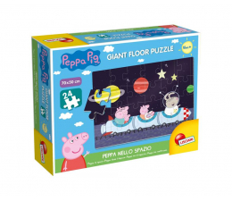 Puzzle dla dzieci Lisciani Giochi Świnak Peppa puzzle w kosmosie