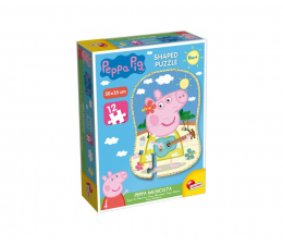 Puzzle dla dzieci Lisciani Giochi Świnka Peppa puzzle kształt 12 el.