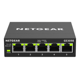 Switch Netgear 5p GS305E (5x10/100/1000Mbit)