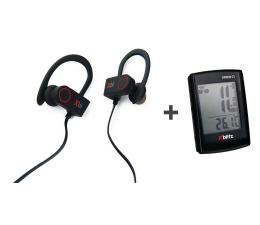 Słuchawki bezprzewodowe Xblitz  Pure sport + Liczniki rowerowy