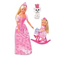 Lalka i akcesoria Simba Steffi i Evi Królowa z królewną