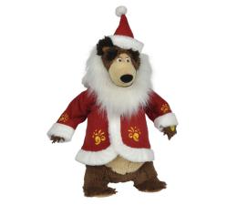 Maskotka Simba Masza i Niedźwiedź świąteczny Misza 43cm