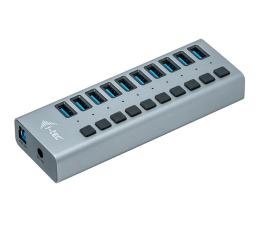 Pozostałe i-tec HUB USB 3.0 (10 portów, ładowanie do 10W)