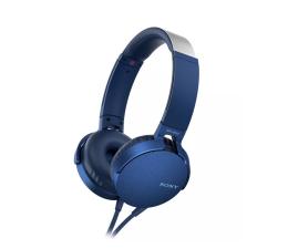 Słuchawki przewodowe Sony MDR-XB550AP Niebieskie