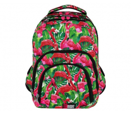 Plecak Majewski ST.Right Plecak szkolny Flamingo Green BP-25